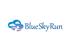 Blue Sky Run Logo Concept